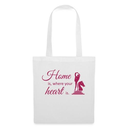 Homeiswhereyourheartis EDITION - Stoffbeutel