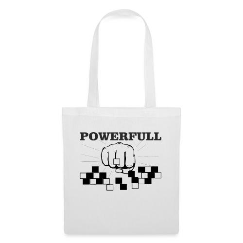 POWERFULL - Bolsa de tela