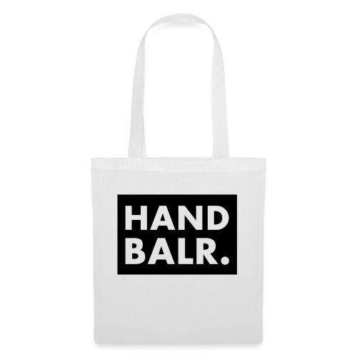 Handbalr Wit - Tas van stof