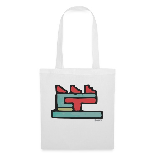 Aztec Icon House Night - Tote Bag