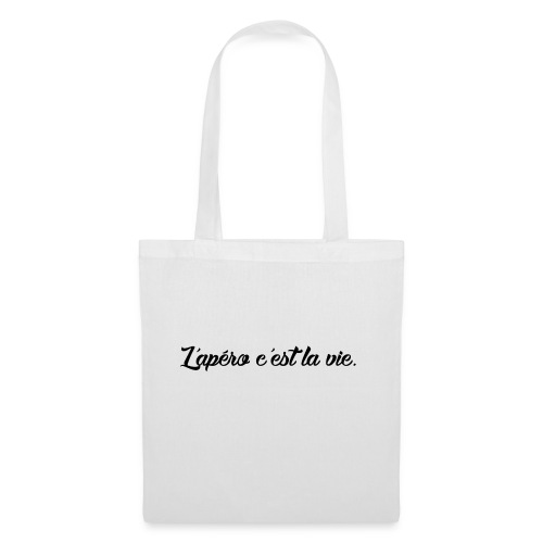 L'apero c'est la vie - Tote Bag