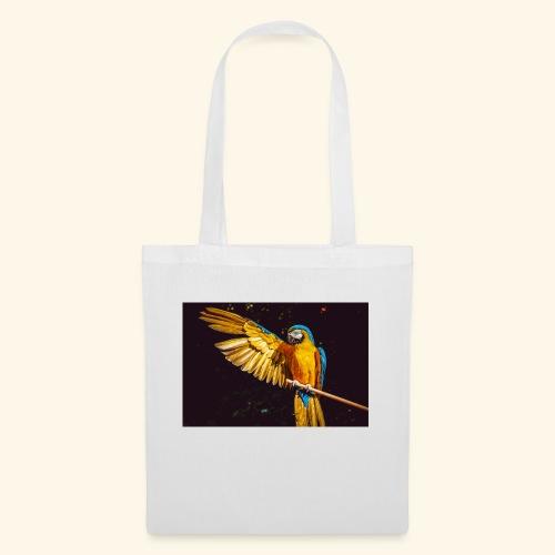 Papagei - Stoffbeutel