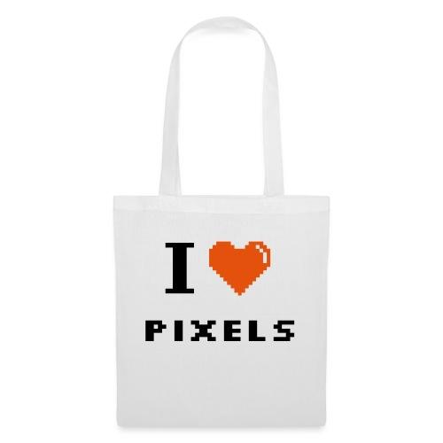 Iheart PIXELS - Tote Bag