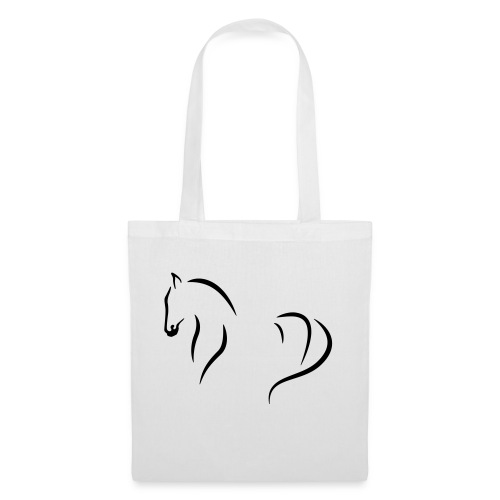 Pferd abstrakt - Stoffbeutel