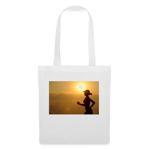 Sunset run - Stoffbeutel