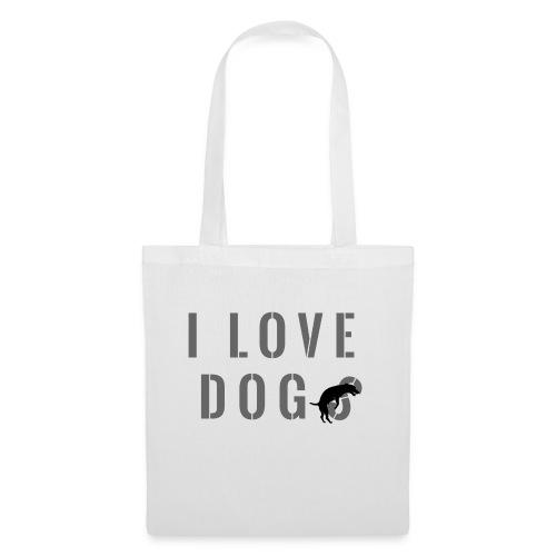 I love dog - Borsa di stoffa