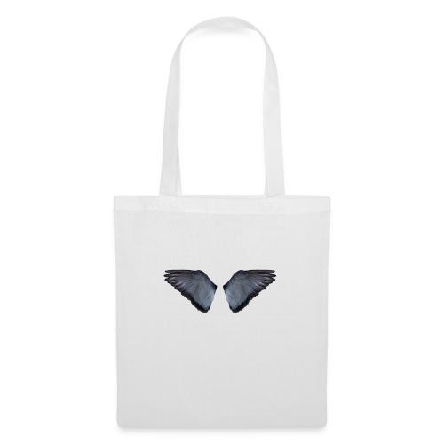 Blaue Flügel Slat - Stoffbeutel