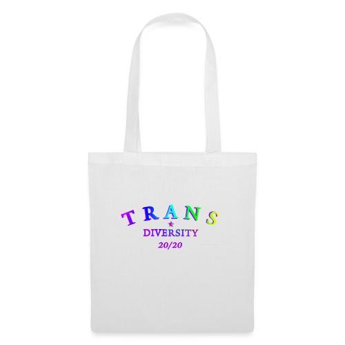 TRANSGENDER DIVERSITY AGENDA 20/20 LGBTQIA - Stoffbeutel