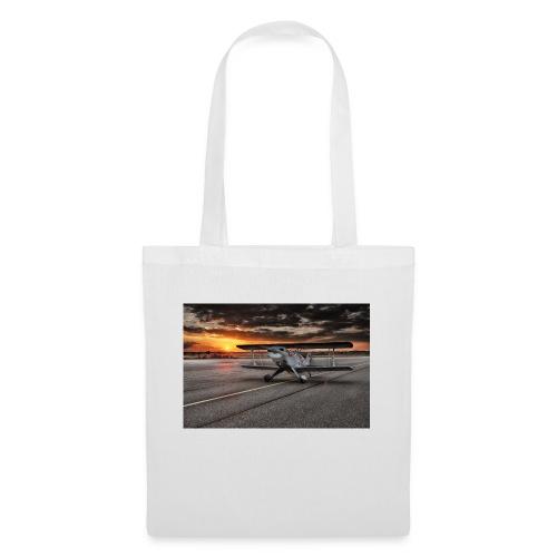 aircraft biplan pitts - Tote Bag