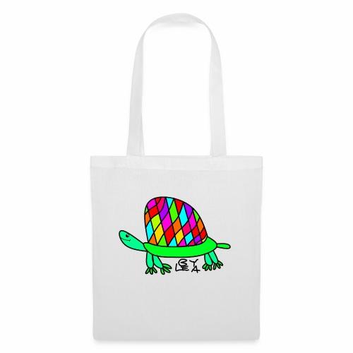 Schildkröte von Lea Version 2 - Stoffbeutel