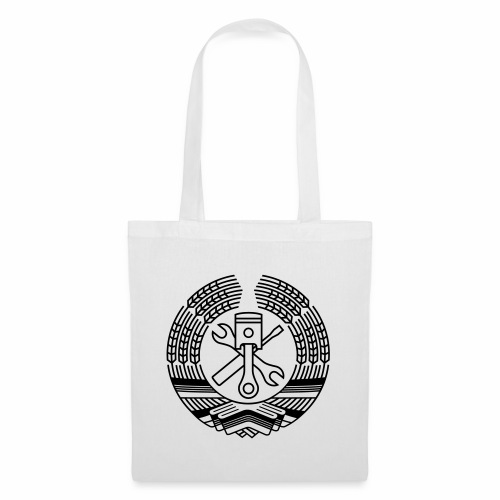 DDR Tuning Coat of Arms 1c (+ Your Text) - Tote Bag