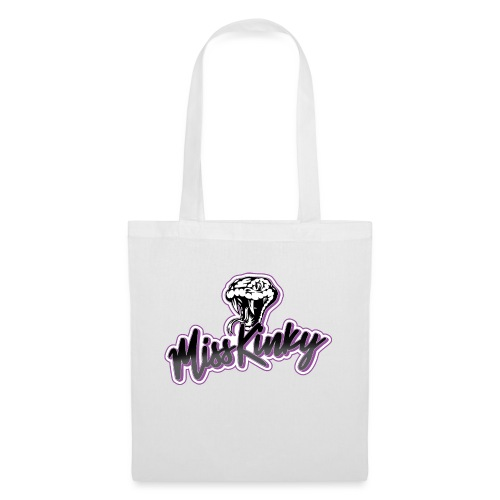 Logo Miss Kinky violet - Sac en tissu