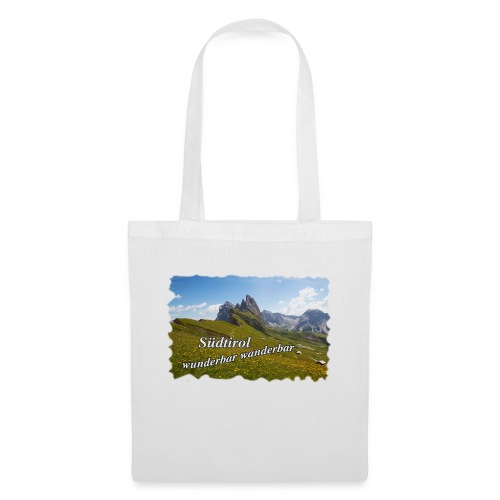 Südtirol - wunderbar wanderbar - Stoffbeutel
