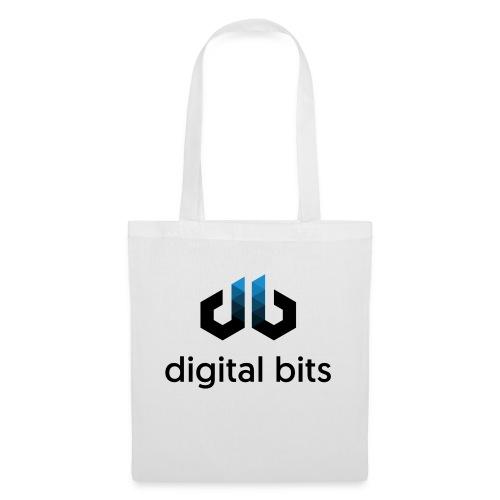 digitalbits Logo mit Schriftzug - Stoffbeutel