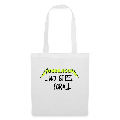 and steel for all text version - Bolsa de tela