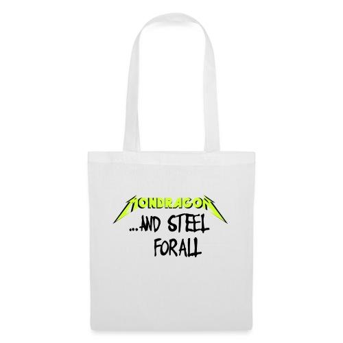 and steel for all text version - Bolsa de tela