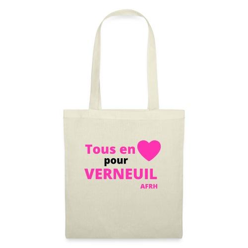 Tous en coeur pour Verneuil - Sac en tissu