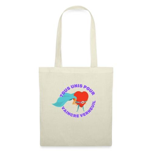 Tous Unis pour Vaincre verneuil violet - Sac en tissu