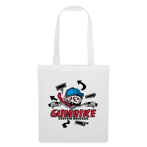 gumbike-monster - Tote Bag