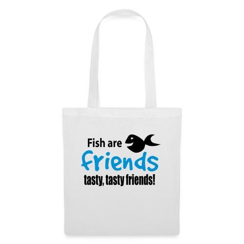 Fisk er venner - Stoffveske