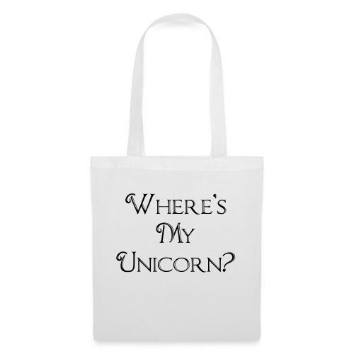 Where's My Unicorn - Tote Bag