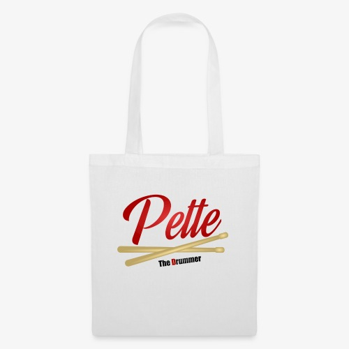 Pette the Drummer - Tote Bag