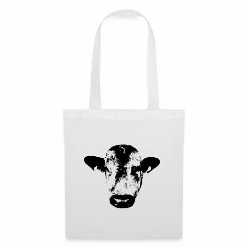 Kuh gesicht png - Stoffbeutel