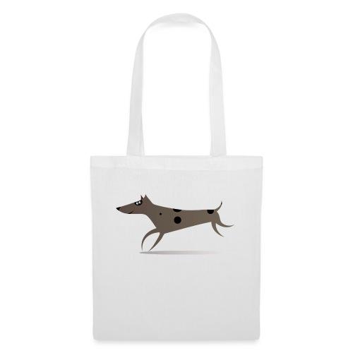 running-dog-1674812 - Stoffbeutel