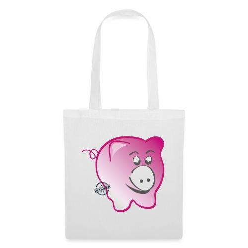 Pig - Symbols of Happiness - Tote Bag