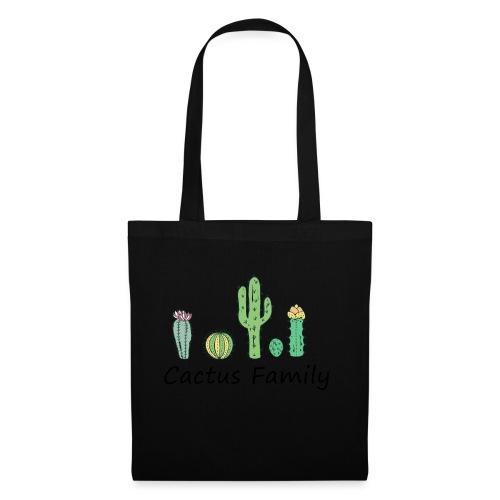 Cactus family - Stoffbeutel