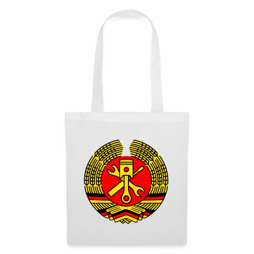 DDR Tuning Coat of Arms 3c (+ Your Text) - Tote Bag