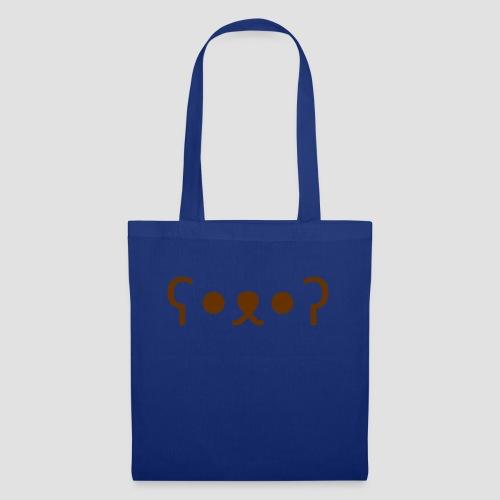Kuma Kaomoji (Marron) - Tote Bag