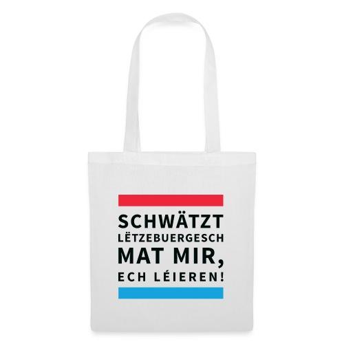 Schwätzt Lëtzebuergesch - Tote Bag