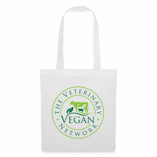 Veterinary Vegan Network Logo - Tote Bag