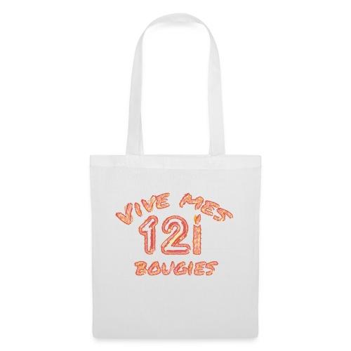 Vive mes 12 bougies - Tote Bag