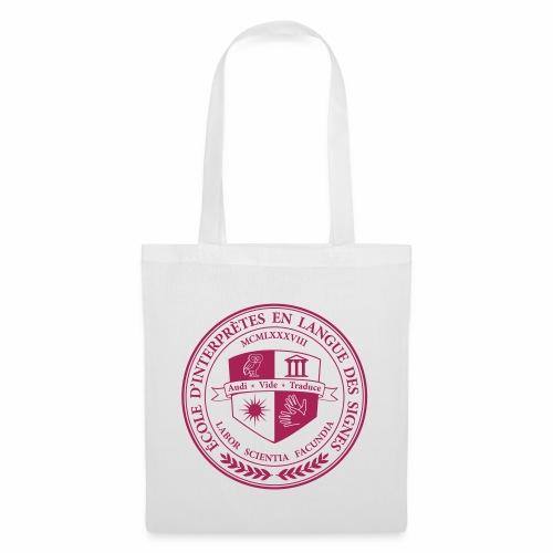 Blason école interprètes LSF - Tote Bag