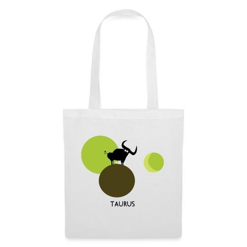 Unconventional zodiac :taurus - Borsa di stoffa