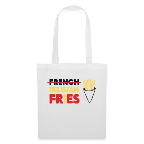 Vote for Belgian Fries - Sac en tissu