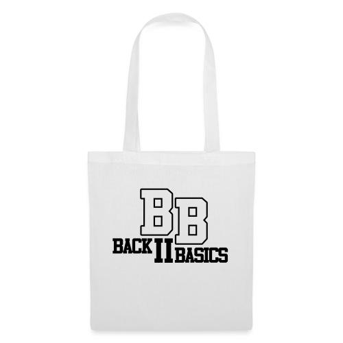 Logo Back To Basics 1 couleur vectorise - Sac en tissu
