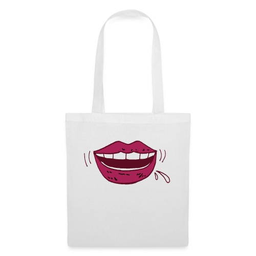 mouth - Bolsa de tela