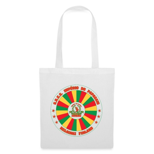 Papagaio drum logo - Kangaskassi