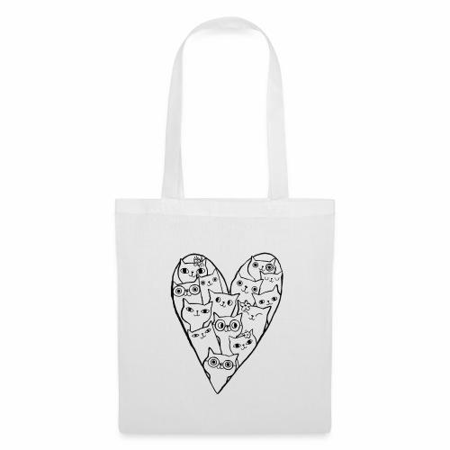 I Love Cats - Tote Bag