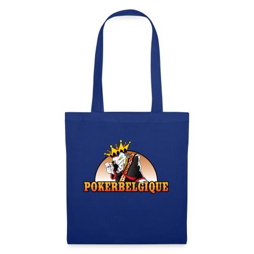 Logo Poker Belgique - Sac en tissu