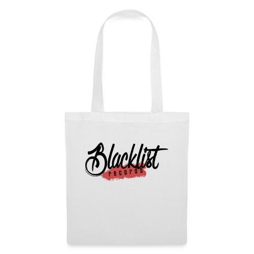 Blacklist Records - Casquette (Logo Noir) - Sac en tissu