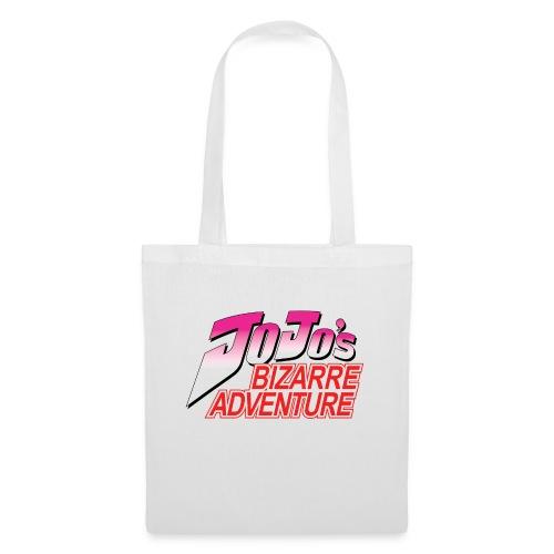 Jojo's Bizarre Adventure Logo T Shirt - Bolsa de tela