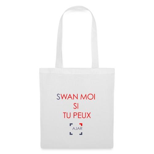 Swan moi - Rouge - Sac en tissu