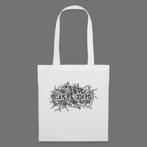 carpe diem (black) - Tote Bag