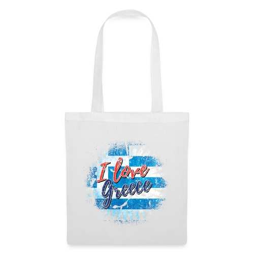 AND LOVE GREECE - Tote Bag