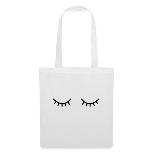 Occhi chiusi - Borsa di stoffa