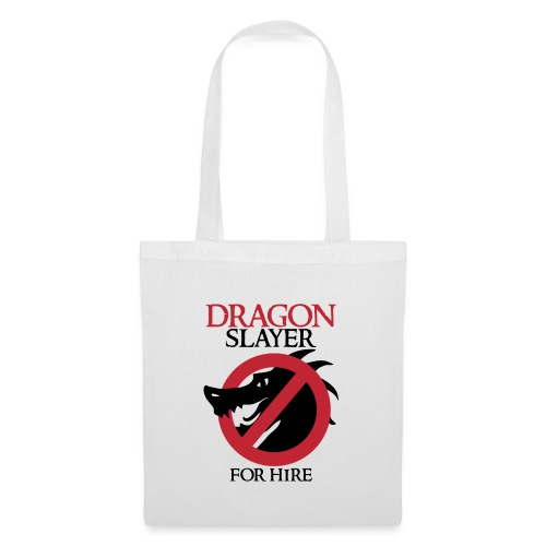 Dragon Slayer for Hire - Tote Bag